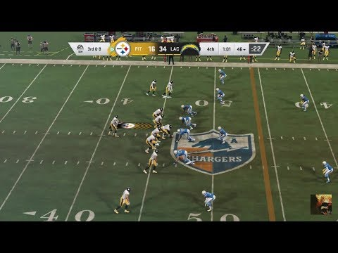 Madden NFL 20 STEELERS Vs CHARGERS Week 6 LIVE STREAM