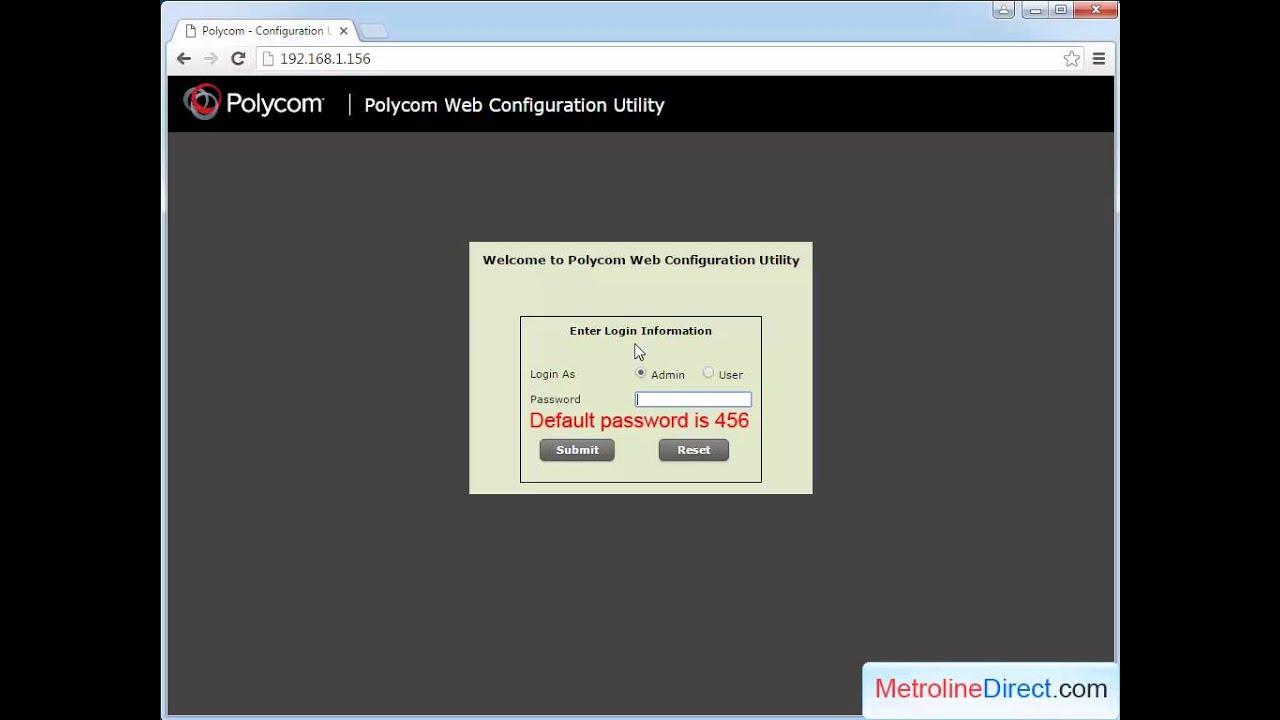 Polycom VVX: How to Find MAC address of Polycom VVX phones