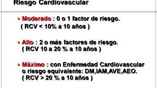 Repeat youtube video FACTORES DE RIESGO CARDIO VASCULAR