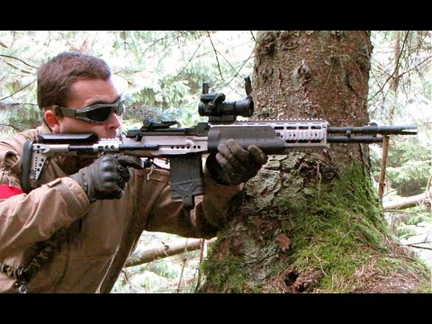 G&P M14 EBR in Action at Section8 - YouTube M14 Ebr Airsoft