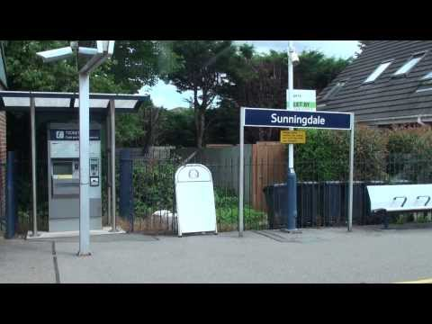 (HD)Travel to UK,Sunningdale railway station-British Rail