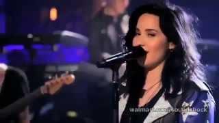 Demi Lovato - Give Your Heart a Break (Live Walmart Soundcheck)