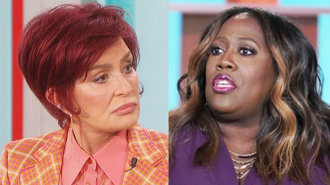 What's going on with Sharon Osbourne and Sheryl Underwood?