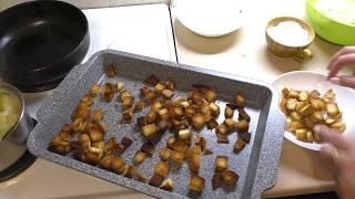 Влог 31 октября Быстрая пицца на сковороде Самые вкусные котлеты с картофельным пюре