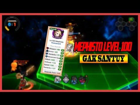MANTAP !! Mephisto Level 100 Gak Ada Obat !! - Lost Saga Indonesia