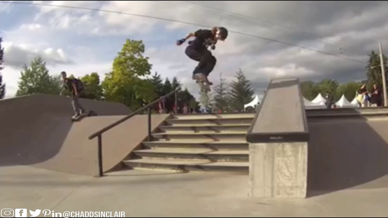 Chadd Sinclair Skateboard Footage