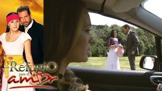 Un refugio para el amor - Capítulo 17: Gala sorprende a Rodrigo junto a Luciana | Tlnovelas