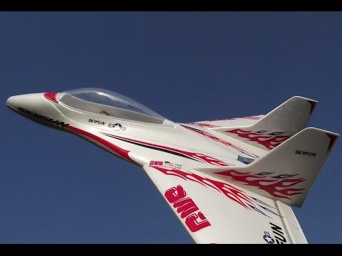 hobbyking rc plane skyfun delta wing aerobatics youtube. Black Bedroom Furniture Sets. Home Design Ideas