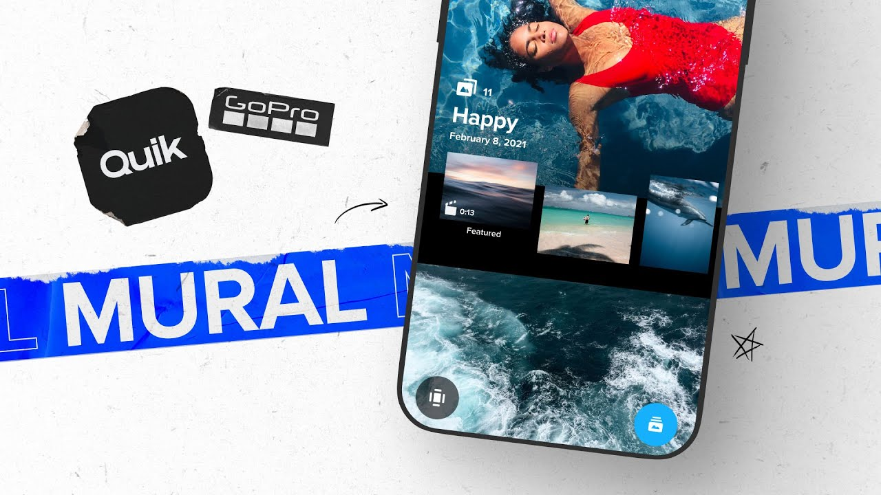 GoPro: How to Use Quik's Mural   Turn Your Favorite Moments Into a Private Feed Of Epic Memories