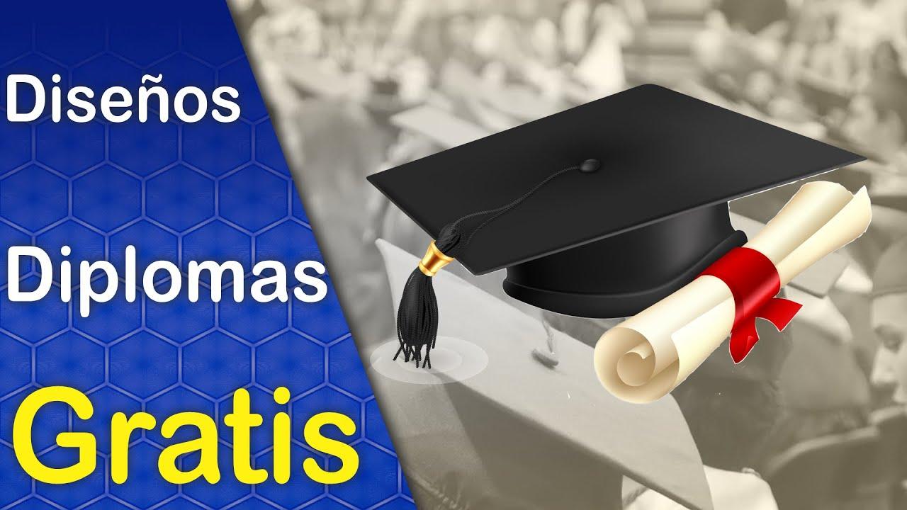 Diseños de Diplomas Para Graduaciones colección 1 descarga Gratis ...