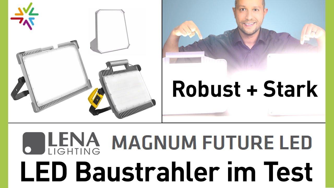 LED Baustrahler Test - Die robusten Arbeitsleuchten Magnum Future LED Strahler