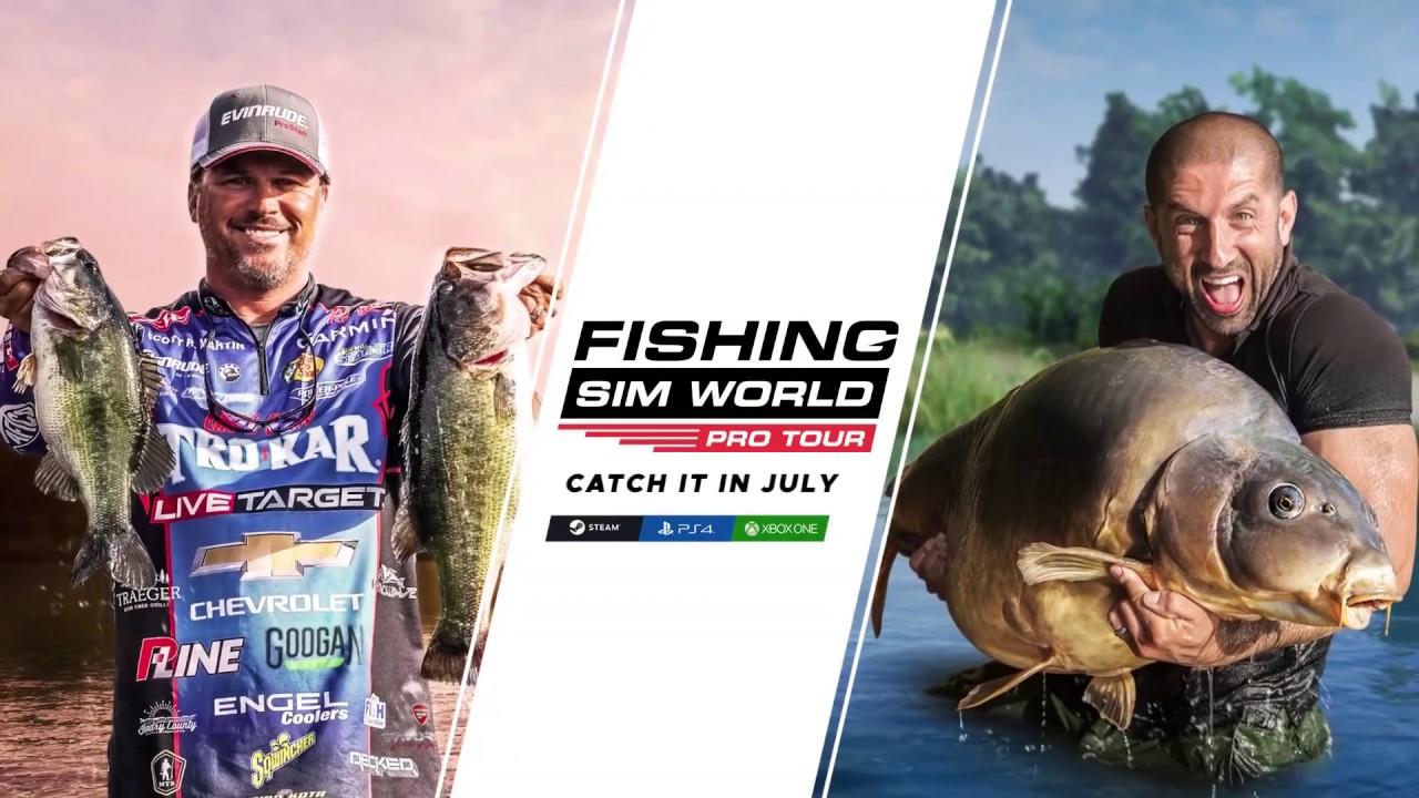 Fishing Sim World Pro Tour With Scott Martin Youtube