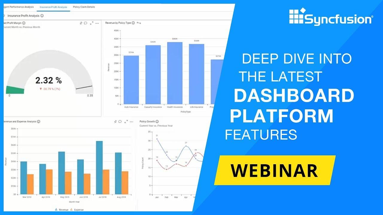 Deep Dive into the Latest Dashboard Platform Features [Webinar]