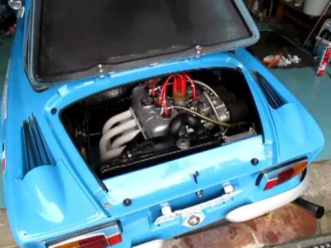 Alpine A110 Vc 1296 Gordini Engine Youtube