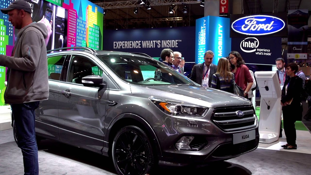 ford reveals sync 3 and new kuga at mwc 2016 youtube. Black Bedroom Furniture Sets. Home Design Ideas