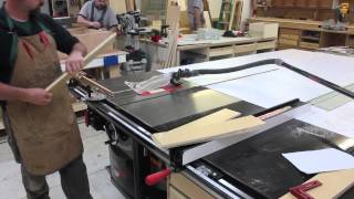 Making Sturdy Drawers With Your Sawstop Table Saw