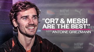 """Griezmann: """"Ronaldo and Messi are the best players of all time!"""" - Oh My Goal"""