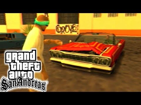 GTA San Andreas [PS2] #4 - A Festa dos LOW-RIDERS!