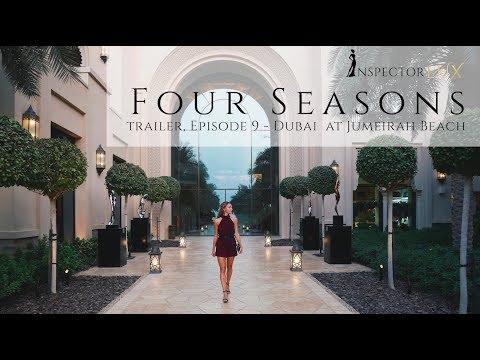 Beautiful Four Seasons Dubai Jumeirah Beach - luxury resort review by InspectorLUX (TRAILER)