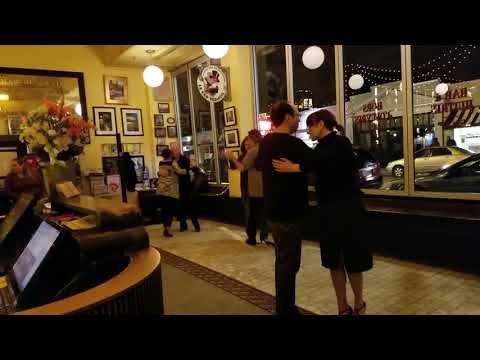 #CanCan restaurant in Richmond VA - old fashion dancing