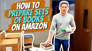How to prepare sets of books on Amazon