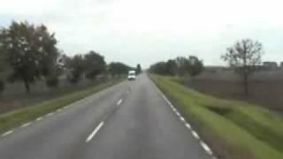 Dzień z życia kierowcy ciężarówki;) / One day of a truck driver.