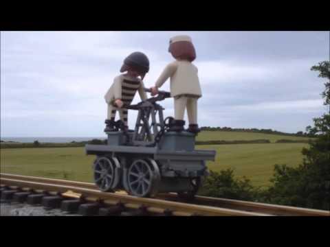 Playmobil LGB Train hand car Gandy Dancer