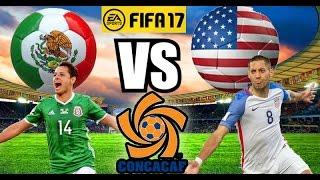 FIFA 17 Mexico vs Estados Unidos - Hexagonal  CONCACAF rumbo a Rusia 2018