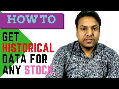 How to get historical data for any stock | Trade Smart with Sharma Ji