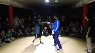 VOLT VS BREAK RAVE |1/2| PARKING OF STYLES