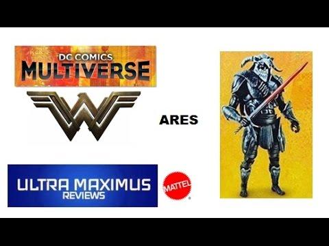 Ares DC Comics Multiverse Wonder Woman (2017)