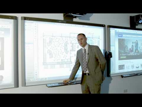 Writing over PDFs on a SMART Board interactive whiteboard