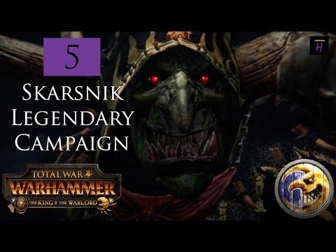 Totalwar Warhammer: Legendary Skarsnik Playthrough Part 5