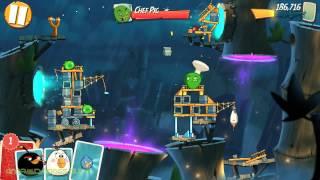 Angry Birds 2: Level 43: Walkthrough (3 STARS) Chef Pig HD