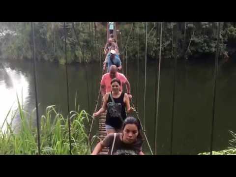 Puente Hamaca, Lago Garzas, Adjuntas, Puerto Rico