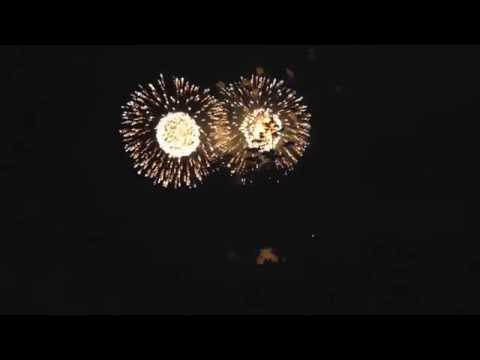 LOPEZ ISLAND FIREWORKS SHOW----4'th of JULY  2016
