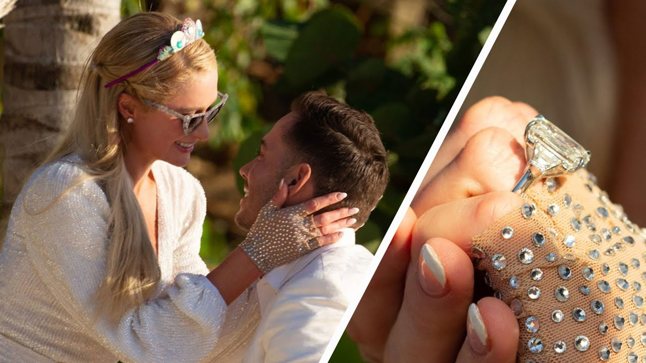 Paris Hilton announces engagement to Carter Reum on her 40th ...