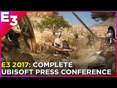 E3 2017: Complete Ubisoft Press Conference