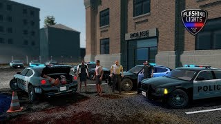 Flashing Lights (Police Simulator) Gameplay