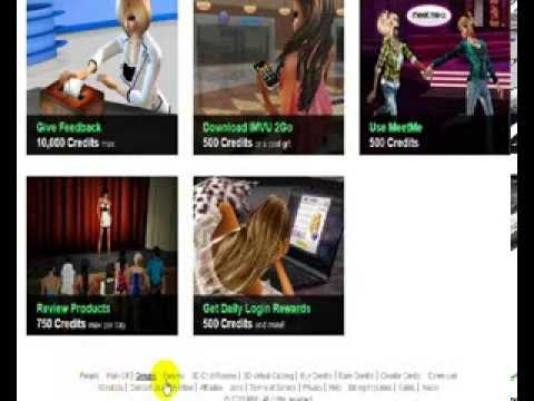 how to get credits hacking imvu