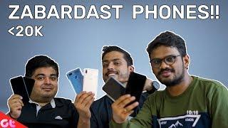 Top Phones Under 20000 to Buy in November 2018 | Sabse Best kaunse?