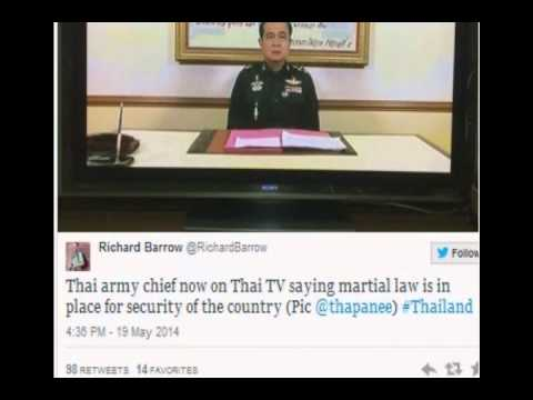 Breaking Martial Law in Thailand