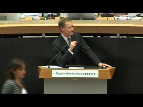 32. Sitzung des Berliner Abgeordnetenhauses - Wohnungspolitik des Senats - Michael Müller