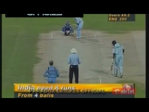 INDIA vs ENGLAND  Akai-Singer Champions Trophy | Sharjah, 1997 | SUPER RARE!!!!