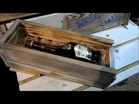 Ролик Столярка. Делаем короб из дерева для алкоголя своими руками за час. Столярка ANB Wood