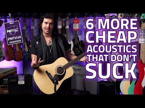 6 More Cheap Acoustic Guitars That Don't Suck Pt. 2 - 2019 Budget Friendly Acoustics!