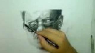 Bernie Mac Drawing