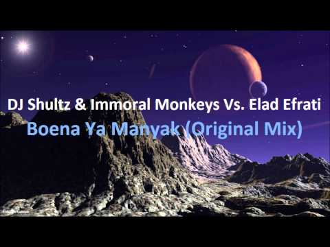 DJ Shultz & The Immoral Monkeys vs. Elad Efrati - Boena Ya Manyak (Original Mix)