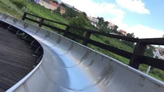 Летняя бобслейная трасса Чехия Прага