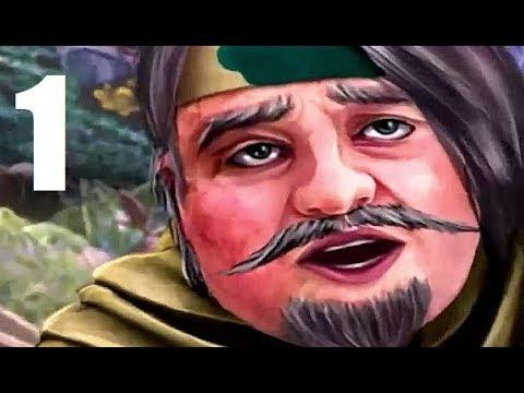 Queen's Quest 4: Sacred Truce - Part 1 Let's Play Walkthrough FACECAM